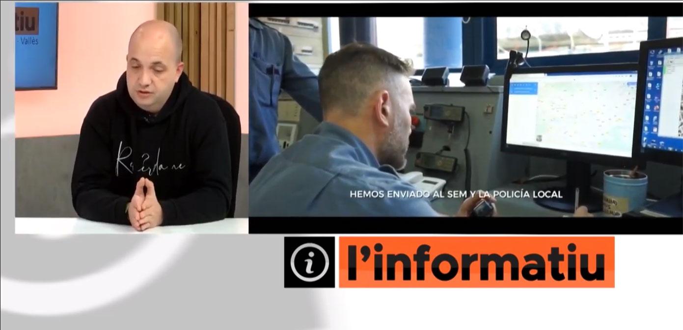 Entrevista en Tv Sabadell